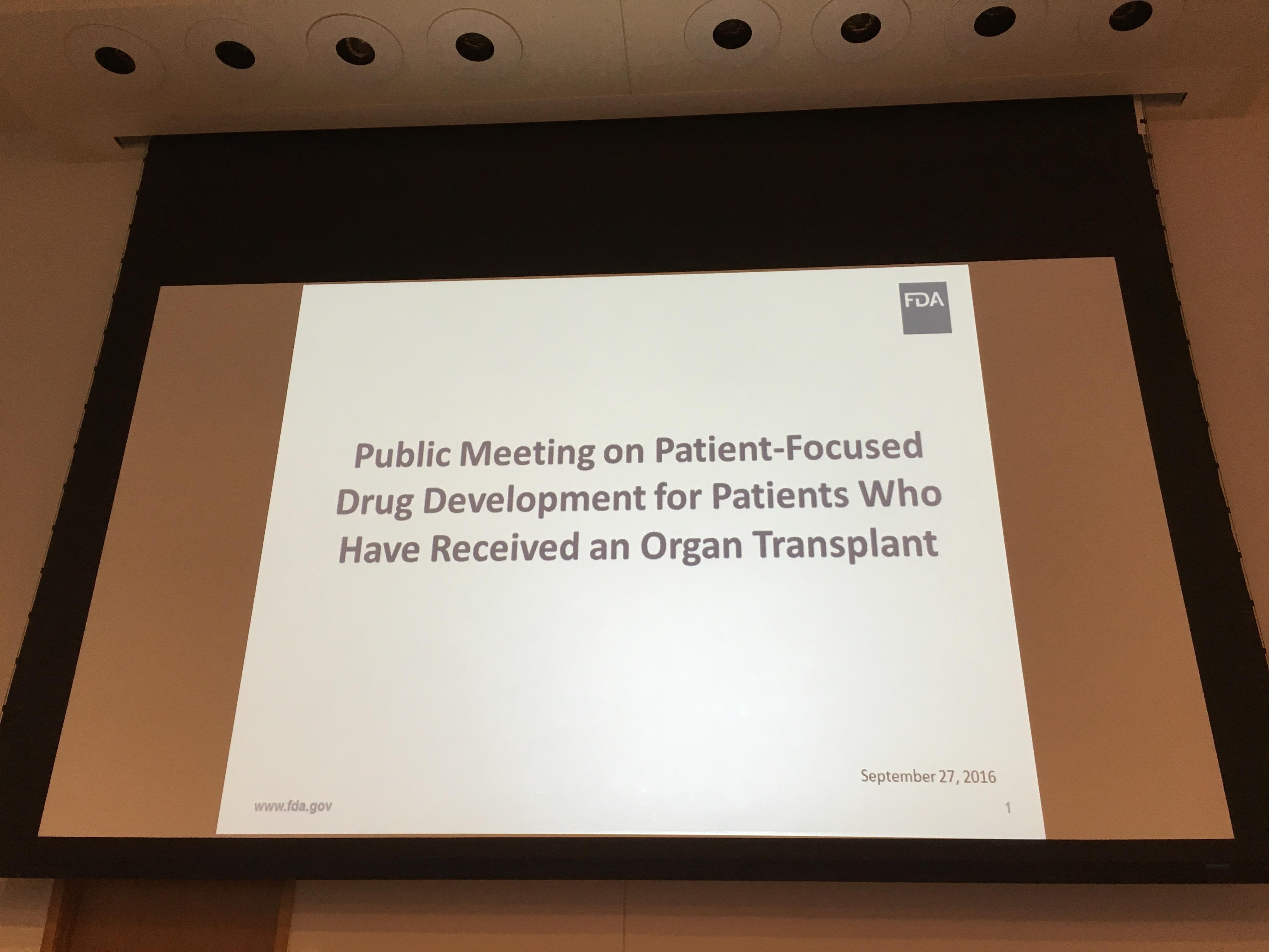 FDA slide